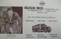 business cards, maislin brother, lach busi, busi card, elmer lach, brother truck