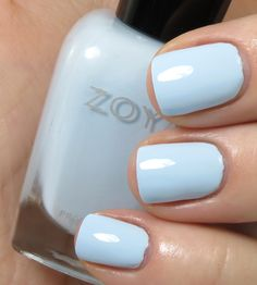 Review & Swatches: ZOYA Lovely Collection for Spring 2013 - Zoya Blu