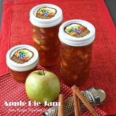 Apple Pie Jam - Reci