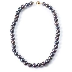 Love black pearls!