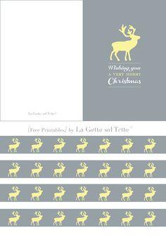 {Free Printables} for Christmas