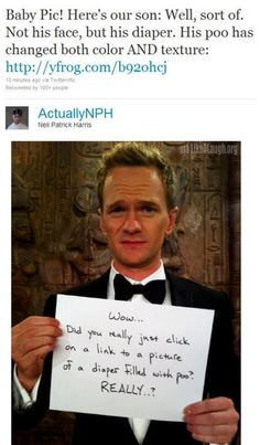 Neil Patrick Harris being awesome as usual