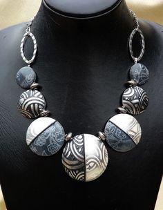 lentil, clays, polymerclay bead, polymer clay jewelry, clay jewelri, beads, polym clay, blog, chunky necklaces