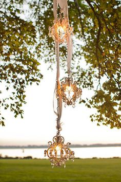 chandeliers are always a welcome decor element in our book  Photography by http://rebecca-arthurs.com