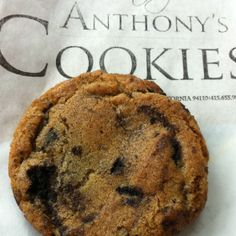 Toffee Chip Cookies from Anthony's Cookies in the Mission, San Francisco, CA | You can't go wrong at Anthony's, but if you're only trying one cookie, start here.