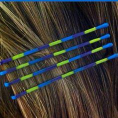 hair secret, bobby pins, diy color, crafti idea, diy bobbi, crafti fox
