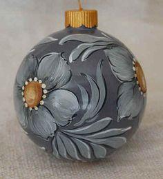 Christmas Ornaments - Glass Balls Western Decor