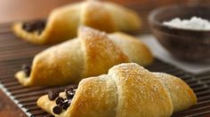 Chocolate-Filled Crescents so easy and yummy!