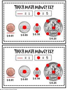 Touch Math Money