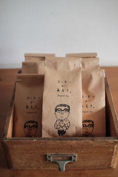 手紙舎オリジナルコーヒー豆 3種