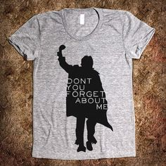 Not much for graphics or words on clothes- but like this one