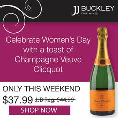 Celebrate Women's Day with a Toast of Champagne