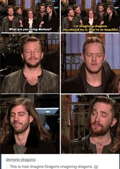 Imagine dragons IMAGINING DRAGONS omg lol