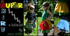 Skirt Week Guest Tutorial: Super Skirts by Kat of Sew Chibi!