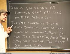 camp counselor, true, camp songs, outdoor life, summer camp