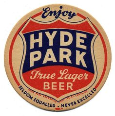 Hyde Park True Lager Beer. Hyde Park Breweries Association Inc., St. Louis, MO.