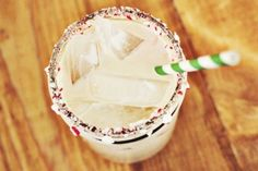 This is the perfect White Russian for the holidays! Can't wait to whip one up with some Kahlua Peppermint Mocha.