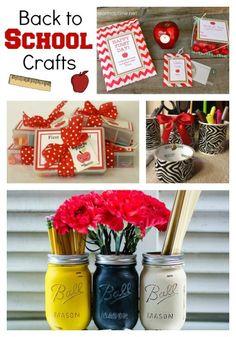 Back to School Crafts Roundup  |  KraftyCardsEtc.com