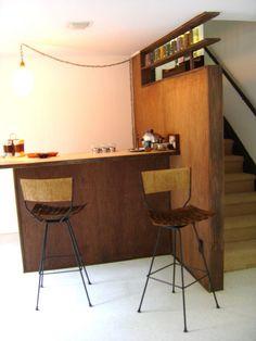 mid century bar