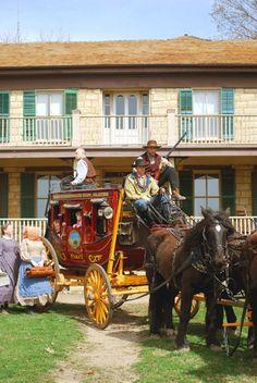 Mahaffie Stagecoach Stop and Farm Historic Site, Olathe - A Kansas Sampler Foundation History Finalist