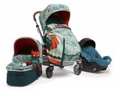 Special edition Donna Wilson designed fox stroller set for Mamas + Papas. Crazy cute.
