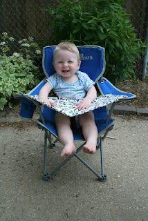 idea, highchair, camp high, diy camping high chair, high chairs, kiddo, camping chairs