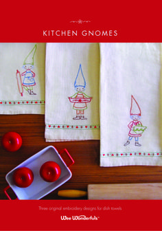 gnome embroidery!