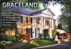 Awesome place to visit bucket list, memphis, mansion, hous, elvi presley, homes, place, elvis presley, graceland