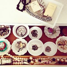 Jewelry Bowls in a Drawer