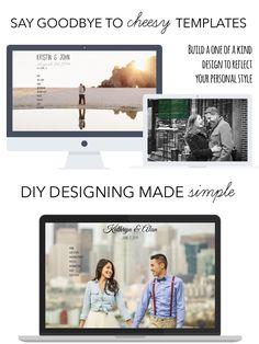 WeddingWoo customizable wedding websites