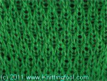 Long-Slip Textured - Knittingfool Stitch Detail