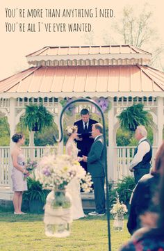This outdoor wedding is southern rustic perfection>> http://my.gactv.com/great-american-weddings/multigallery.esi?soc=pinterest