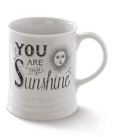 Love this. :: 'You Are My Sunshine' Mug
