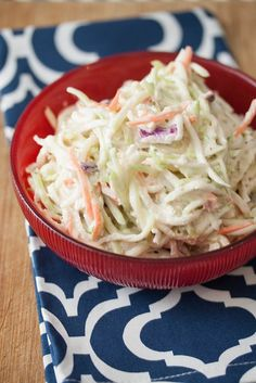 Kohlrabi & Granny Smith Apple Slaw
