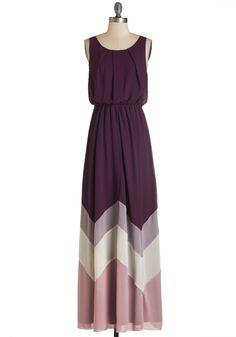 Romantic Resplendence Dress in Purple.
