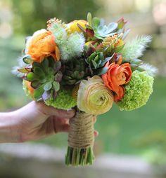 succulent bouquet - Google Search