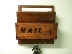 Wall mounted Wood mailbox/sorter
