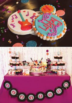 country music themed birthday party   ... Birthday > Parties for Girls > Girly Themed Rockstar Birthday Party