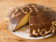 Greek Vasilopita, or Saint Basil's Bread, Sweet Tradition. Join the #greekcookingchallenge and learn how to make it!