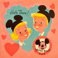 vintage mickey mouse club