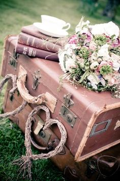 Charming suitcases