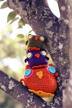 """http://www.ravelry.com/patterns/library/crochet-amigurumi-owl"" #Amigurumi  #crochet"