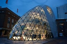 The Blob, Eindhoven, The Netherlands, by Massimiliano Fuksas
