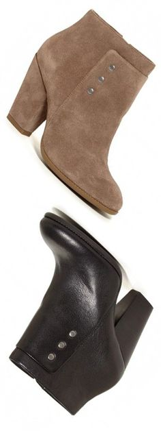 Booties in Tan or Black