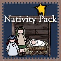 Free Nativity Pack for ages 2 to 7 - Over 60 pages 3Dinosaurs.com