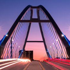 Nighttime on the Lowry Avenue Bridge in Minneapolis. #Minneapolis #Cityscape #OnlyinMN