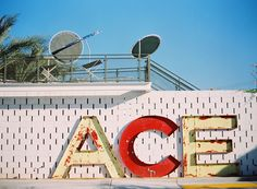 Palm Springs Ace Hotel Sign - Jessica Claire