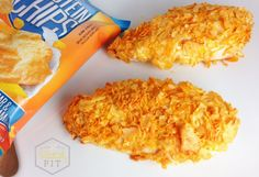 Oven-Baked Crispy Cheddar Chicken