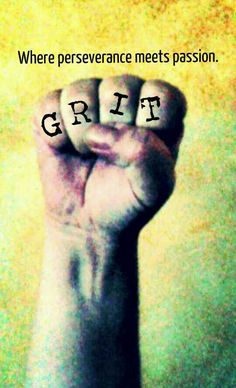 All girls should have some grit.