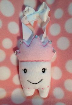 ITH Princess Tooth Pillow, $3.00